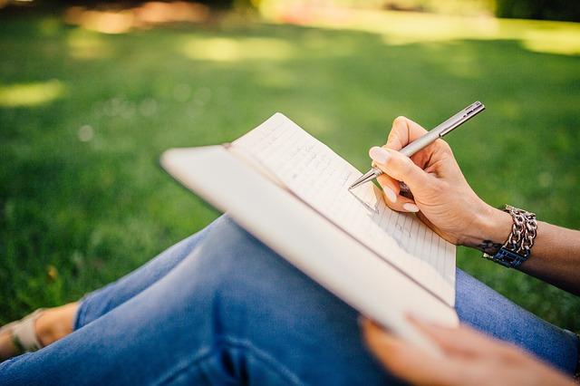 Žena spisovatelka